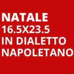 Natale Grandezza Normale 16,5x23,5 in dialetto Napoletano